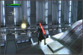 Po zakończonej eksterminacji czas na wypełnienie pierwszego z zadań dodatkowych - Misja 01 - TIE Fighter Factory (cz.1) - Star Wars: The Force Unleashed - poradnik do gry