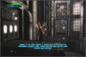 Niestety, winda nie działa - Misja 01 - TIE Fighter Factory (cz.2) - Star Wars: The Force Unleashed - poradnik do gry