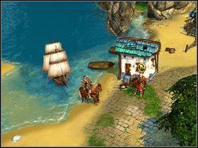Do krainy elfów dostaniesz się wyłącznie na pokładzie statku, pilotowanego przez rybaka Kitano. - Królowa Violessa - Zadania główne - Kings Bounty: Legenda - poradnik do gry