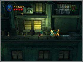 Zejdź poziom niżej i idź w prawo - There She Goes Again (cz.3) - Heros Episode 2 - LEGO Batman: The Videogame - poradnik do gry