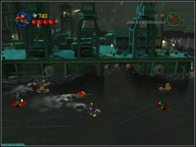 5 - Batboat Battle (cz.1) - Heros Episode 2 - LEGO Batman: The Videogame - poradnik do gry