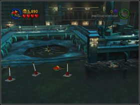 12 - Batboat Battle (cz.1) - Heros Episode 2 - LEGO Batman: The Videogame - poradnik do gry