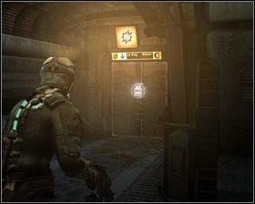 Idziemy korytarzem na wprost, skręcamy w prawo i wsiadamy do windy do sektora naprawczego i wyjeżdżamy do góry - Nowe transporty (cz.3) | Rozdział 01 - Dead Space - poradnik do gry