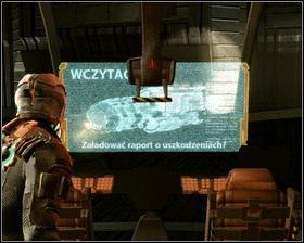 Idziemy w stronę naszego statku, na drodze staje nam pełzający mutant - Nowe transporty (cz.4) | Rozdział 01 - Dead Space - poradnik do gry