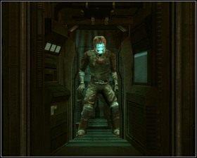 Na dole znajdujemy Magazyn , sugeruję zakup Kombinezonu poziomu 2 - Nowe transporty (cz.4) | Rozdział 01 - Dead Space - poradnik do gry