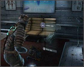 Wchodzimy na platformę i zjeżdżamy na niższy poziom laboratorium, gdzie radzimy sobie ze wszystkimi potworami i zbieramy wszystkie przedmioty - Intensywna terapia (cz.1) | Rozdział 02 - Dead Space - poradnik do gry