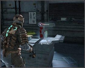Gdy uporamy się z bobasami, przechodzimy do głównego laboratorium, w którym znajdujemy Termit - Intensywna terapia (cz.1) | Rozdział 02 - Dead Space - poradnik do gry