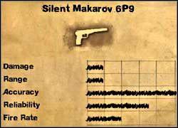 Makarov z tłumikiem - Uzbrojenie drugorzędne - Far Cry 2 - poradnik do gry