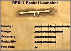 Wyrzutnia rakiet RPG-7 - Uzbrojenie specjalne - Far Cry 2 - poradnik do gry