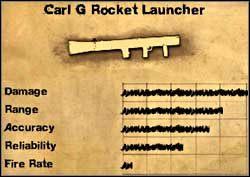 Wyrzutnia rakiet Carl G - Uzbrojenie specjalne - Far Cry 2 - poradnik do gry