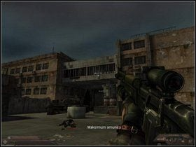 Gdy wszyscy oponenci padną, skieruj się w lewo i przejdź rzez bramę - Szpital (część III) - Dusk-12: Strefa Śmierci - poradnik do gry