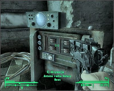 how to find galaxy news radio fallout 3