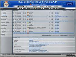 Terminarz - ekran bardzo podobny do poprzedniego pod względem funkcjonalności - Zarządzanie drużyną - Podstawowe funkcje - Football Manager 2009 - poradnik do gry