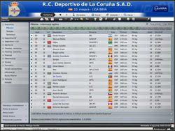 Skład - to jeden z najważniejszych ekranów w Football Manager - Zarządzanie drużyną - Podstawowe funkcje - Football Manager 2009 - poradnik do gry