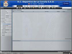 Centrum transferowe - w tym miejscu pojawiają się informacje o przeprowadzanych przez Ciebie transakcjach - Zarządzanie drużyną - Podstawowe funkcje - Football Manager 2009 - poradnik do gry