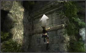 Po drugiej stronie pozb�d� si� bogactwa i skocz w lewo - Coastal Thailand - Remnants (cz.1) - Solucja - Tomb Raider: Underworld - poradnik do gry