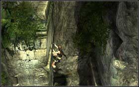 Podci�gnij si� i wejd� na szerok� kraw�d� - Coastal Thailand - Remnants (cz.1) - Solucja - Tomb Raider: Underworld - poradnik do gry