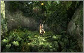Kawa�ek dalej napotkasz na dziur�, w pokonaniu kt�rej przyda si� linka z hakiem - Coastal Thailand - Remnants (cz.1) - Solucja - Tomb Raider: Underworld - poradnik do gry