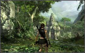 Przeskocz na lewą stronę wejścia, a następnie w górę - Coastal Thailand - Remnants (cz.1) - Solucja - Tomb Raider: Underworld - poradnik do gry