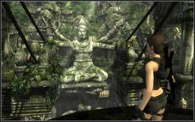 Przeskakując z belki na belkę przejdź do dalszej części korytarza i wyjdź na zewnątrz - Coastal Thailand - Remnants (cz.2) - Solucja - Tomb Raider: Underworld - poradnik do gry