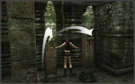 Teraz podejd� do kolumny obok i wetknij dr��ek w odpowiednie miejsce, a nast�pnie si� na niego podci�gnij - Coastal Thailand - Bhogavathi (cz.1) - Solucja - Tomb Raider: Underworld - poradnik do gry