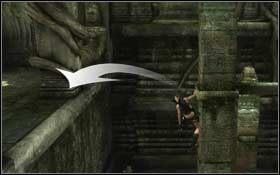 Wskocz na kolejny filar i dalej na fragment belki - Coastal Thailand - Bhogavathi (cz.1) - Solucja - Tomb Raider: Underworld - poradnik do gry