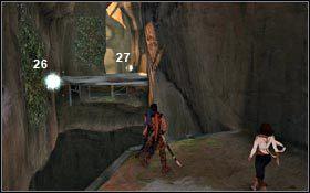 Następne kilka Ziaren Światła znajdziesz w korytarzu prowadzącym do Pieczary - Kościół - Ziarna Światła - Dolina - Prince of Persia - poradnik do gry