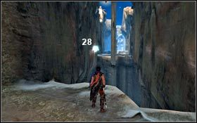 Ziarna Światła od numeru 23 znajdziesz w korytarzu prowadzącym do Bramy Miejskiej - Pieczara - Ziarna Światła - Pałac Królewski - Prince of Persia - poradnik do gry