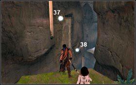 Ziarna Światła od 36 znajdują się w korytarzu prowadzącym do Kościóła - Pieczara - Ziarna Światła - Pałac Królewski - Prince of Persia - poradnik do gry