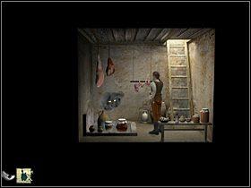 Tak wi�c nasz bohater biegnie do swego domu i zabiera siedz�cego na p�ocie po prawej koguta - Przyprowadzi� Mykorusowi stra�nika - Wioska - Zaginiona historia: Tale of Hero - poradnik do gry
