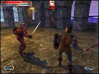 Czas wybrać dalszą drogę - The Krak of Tabriz - Sargon (Rycerz) - Severance: Blade of Darkness - poradnik do gry