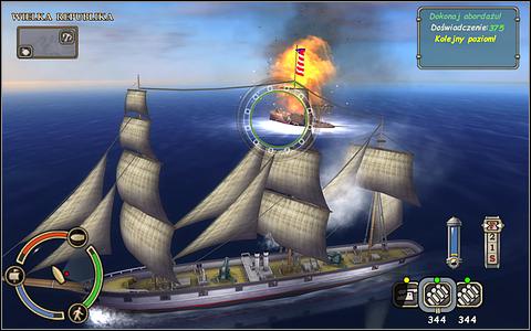 Takich ograniczeń nie mają superbronie montowane w specjalnie na to przeznaczonych miejscach - Bitwy morskie - Swashbucklers: Stal kontra proch - poradnik do gry