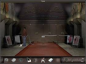 Na miejscu Nicole udaje się do wejścia do budynku rewii (nieopodal zaparkowanego przez nią samochodu) - Moulin Rouge - Francja, Paryż - Art of Murder: Klątwa Lalkarza - poradnik do gry