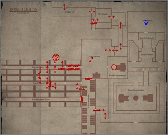 Cmentarz - Powrót przez cmentarz | Shepherds Glen - Silent Hill: Homecoming - poradnik do gry