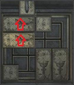 Przesuń dwa poziome klocki z prawej do lewej - Powrót przez cmentarz - Shepherd's Glen - Silent Hill: Homecoming - poradnik do gry
