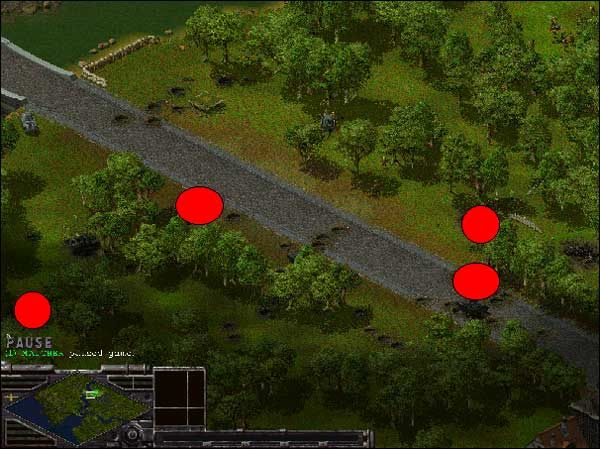 W tej misji mapa jest taka sama jak w drugiej misji - Alianci: Misja 3 - Sudden Strike - Opis przejścia gry po stronie Aliantów - poradnik do gry
