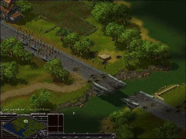 Trochę dalej na zachód znajdują się cztery granatniki - Alianci: Misja 3 - Sudden Strike - Opis przejścia gry po stronie Aliantów - poradnik do gry