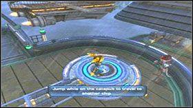 Dzięki temu jesteś już na następnym statku - Azoream Sea - Opis przejścia - Ratchet & Clank: Quest for Booty - poradnik do gry