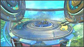 Aby dojść do turbiny, idź wzdłuż brzegu morza - Hoolefar Island (1) - Opis przejścia - Ratchet & Clank: Quest for Booty - poradnik do gry