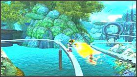 Twoim zadaniem jest odnaleźć człowieka, który posiada brakującą część nadajnika - Hoolefar Island (2) - Opis przejścia - Ratchet & Clank: Quest for Booty - poradnik do gry
