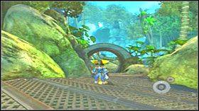 7 - Hoolefar Island (2) - Opis przejścia - Ratchet & Clank: Quest for Booty - poradnik do gry