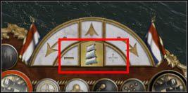 Dla odmiany, płynąc pod wiatr najlepiej je zwinąć - Znaczenie wiatru - Bitwy morskie - Empire: Total War - poradnik do gry
