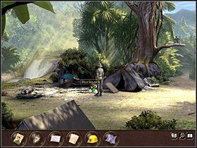 Tymczasem Max, zauważywszy zniknięcie Sam i wysłany przez nią sygnał, udaje się ścieżką wiodącą do dżungli, szybko jednak orientuje się, że przecież tak naprawdę nie zna drogi do świątyni - Indonezja - Dżungla (cz.1) - Tajne akta 2: Puritas Cordis - poradnik do gry