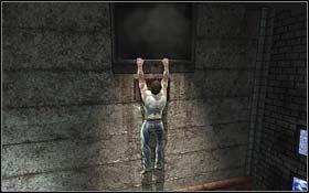 Szybko przejd� za os�on� i poczekaj a� zacznie ona powoli sun�� do przodu - A Frosty Reception (cz.1) - Rozdzia� 1 Origins - X-Men Origins: Wolverine - poradnik do gry