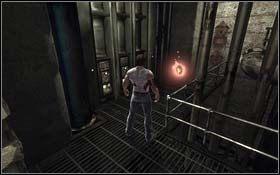 W dalszej cz�ci korytarza znajdziesz mutagen Vitality - A Frosty Reception (cz.2) - Rozdzia� 1 Origins - X-Men Origins: Wolverine - poradnik do gry