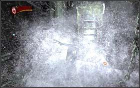W dalszej cz�ci korytarza napotkasz dwa pomieszczenia - A Frosty Reception (cz.2) - Rozdzia� 1 Origins - X-Men Origins: Wolverine - poradnik do gry