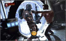 W du�ym pomieszczeniu z cel� spotkasz m - A Frosty Reception (cz.2) - Rozdzia� 1 Origins - X-Men Origins: Wolverine - poradnik do gry