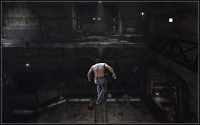 Wskocz na nie, a potem na platformę powyżej - The Escape - Rozdział 1 Origins - X-Men Origins: Wolverine - poradnik do gry