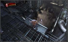 W dole zobaczysz trzech żołnierzy - The Escape - Rozdział 1 Origins - X-Men Origins: Wolverine - poradnik do gry