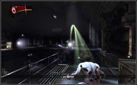 Znajdziesz si� w pomieszczeniu z turbinami - The Escape - Rozdzia� 1 Origins - X-Men Origins: Wolverine - poradnik do gry
